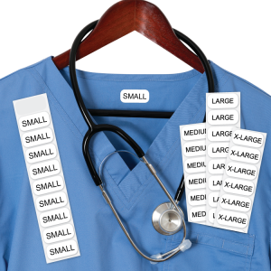 80 Scrubs Sizing Labels-ONCE®