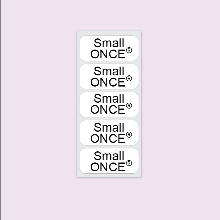 Small Iron On | Clothing Labels | Care & Nursing Homes