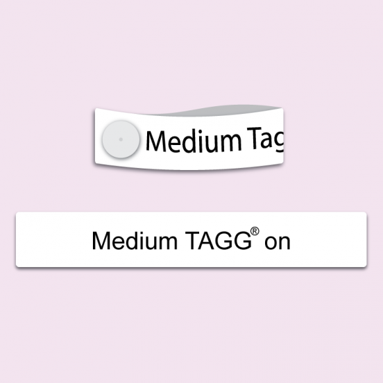Medium Tagg® On Printed Name Tag